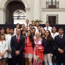 Colegas EDF, directiva Capítulo Dentistas EDF del Colegio y Dra. Mª Eugenia Valle .