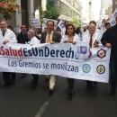 #LaSaludEsUnDerecho: los gremios se movilizan.