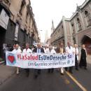 #LaSaludEsUnDerecho: los gremios se movilizan. Foto gentileza Jorge Atala.