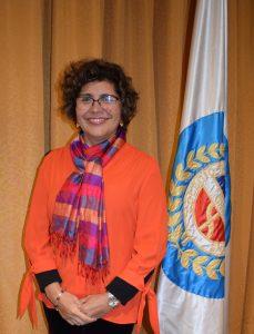 Dra. Anita Quiroga Araya , Consejera Nacional periodo 2018 – 2022. Secretaria Nacional.