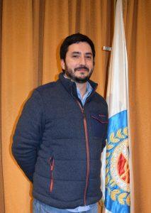 Dr. Benjamin Ravinet Patiño, Consejero Nacional periodo 2018 – 2022.