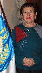 Dra. Ruty Torres Alvial. Consejera Nacional periodo 2014 - 2018