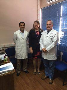 Reunión con Directora del Servicio Municipal Salud