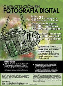 afiche curso fotografía