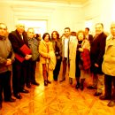 Departamento de Cultura, el artista y su familia.
