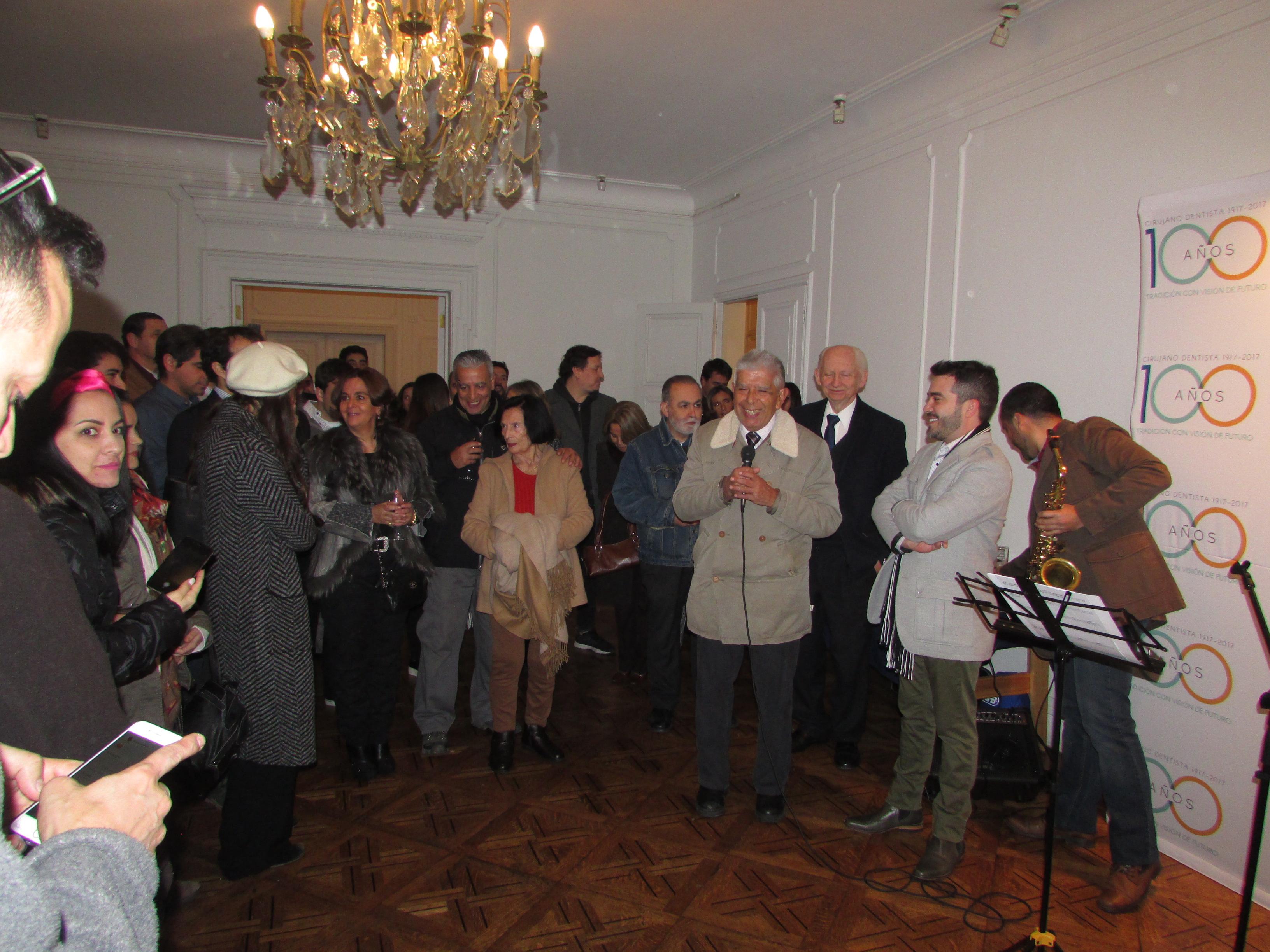 Inauguración muestra de acuarelas del Dr. Sebastián Addison-Smith