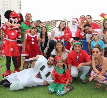 Celebración navideña en Iquique