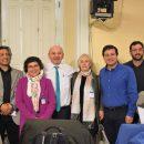Comisión de Salud de la Cámara de Diputados con la directiva nacional del Colegio de Dentistas