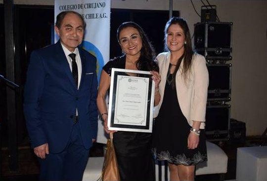 Dra. Tatiana Delgado Aguilera, homenaje por sus 20 años de profesión