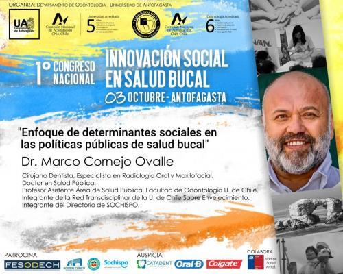 Dr. Marco Cornejo - Enfoque de determinantes sociales en la políticas públicas de salud bucal