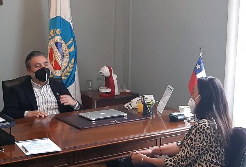 Dra. Cristina Castro y Dr. Patricio Moncada