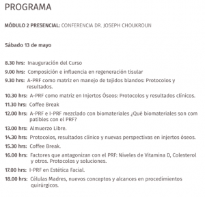 programa 13 de mayo