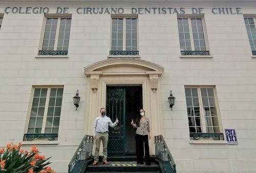 Firma de convenio Colegio de Cirujano Dentistas con Mi Ficha Dental
